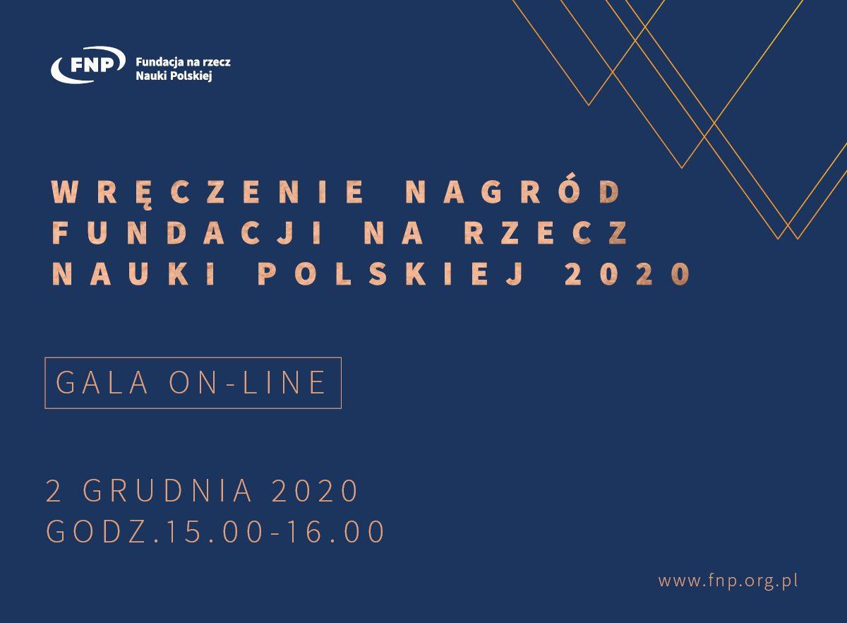 Gala wręczenia Nagród Fundacji na rzecz Nauki Polskiej